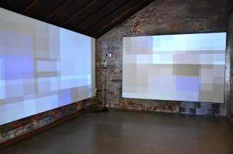 Bojana Ginn, Video Projection, Whitespace Gallery 4