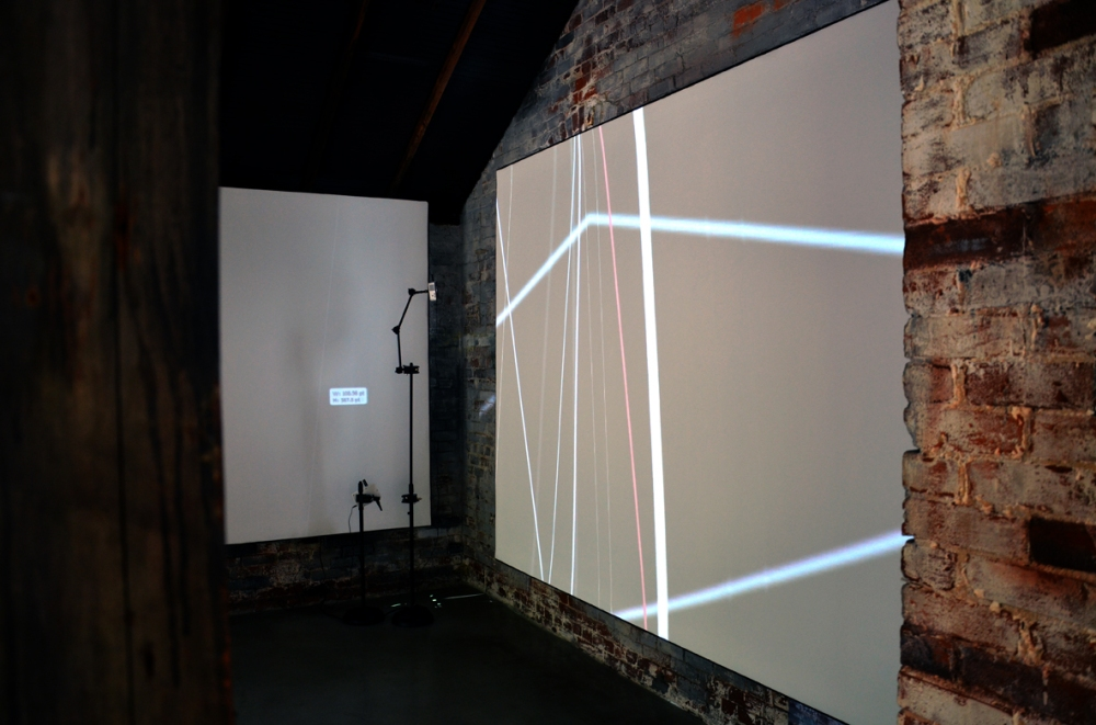 Bojana Ginn, Video Projection, Whitespace Gallery 2