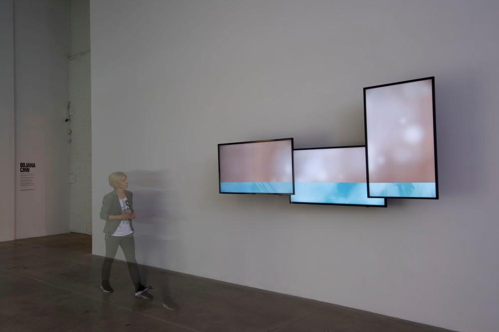 Bojana Ginn Video Installation at MOCA GA